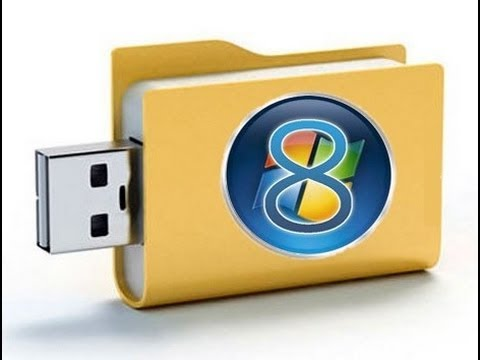 Install Windows 8 from A USB Flash Drive