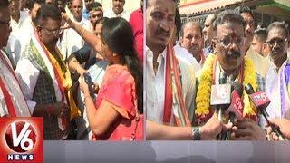 Congress Candidate Dasoju Sravan Files Nomination From Khairatabad Constituency | TS Polls