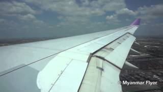 Thai Airways Airbus A330-343 TG 304 Windy Landing in Bangkok