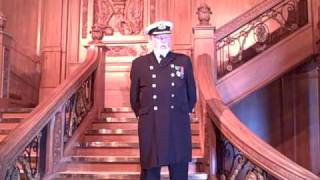 Captain E.J. Smith's Retirement Speech in Titanic: The Artifact Exhibition