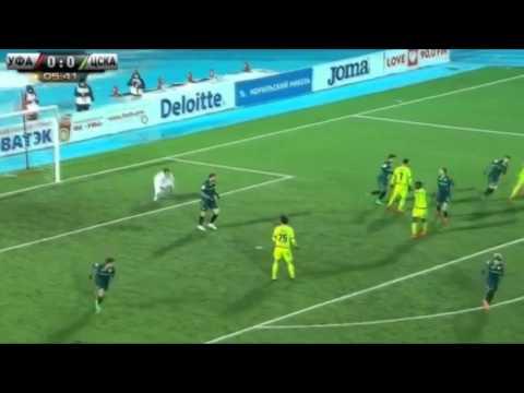 Уфа 0:2 ЦСКА