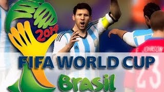 2014 FIFA World Cup!  MESSI!! - KYR SP33DY vs Deluxe 4!