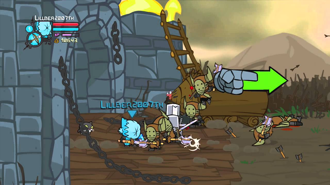 lets play castle crashers episode 1 starting solo with the