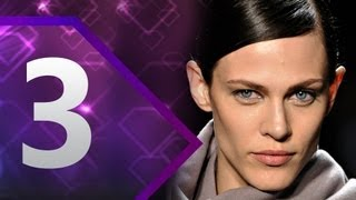 First Face - #3 Aymeline Valade - Spring/Summer 2013 | Top 10 Models at Fashion Week | FashionTV