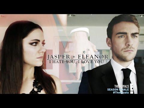 Jasper + Eleanor   I hate that i love you [2x10]