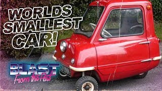Smallest Car In The World! Introducing The Peel P50 One Person Car | Magpie