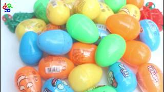 Fun Colors Video For Kids With Egg Surprise -RRR Toys