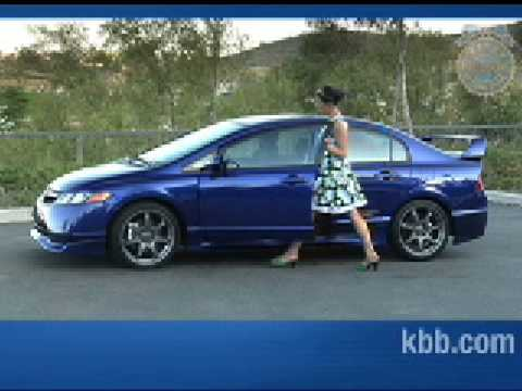2008 Honda Civic Si Mugen Review - Kelley Blue Book - YouTube