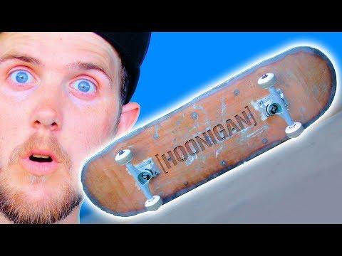 PLASMA CUT STEEL HOONIGAN SKATEBOARD | YOU MAKE IT WE SKATE IT EP. 259