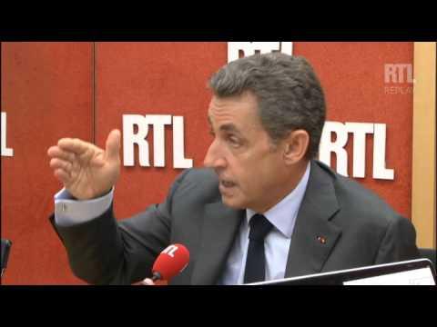 Nicolas Sarkozy répond aux auditeurs de RTL