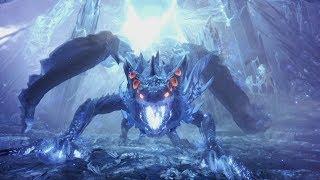 Monster Hunter World: Xeno'jiiva Final Boss Fight and Ending (Solo / Long Sword)