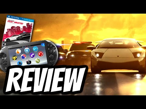 Need for Speed Most Wanted Playstation Vita REVIEW (PS VITA)