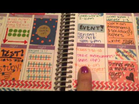 Erin Condren 2014 Life Planner Review / How I use my Erin Condren Life Planner