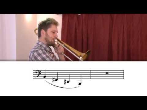 03 Wie spielt man die posaune - Hohe töne