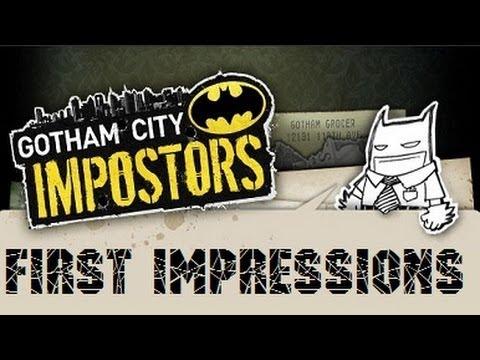 Играем в Gotham City Impostors: Первые впечатления