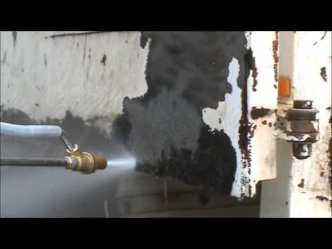 Sandblasting Kit using a High Pressure Water Jetter