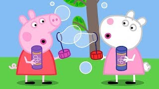Peppa Pig English Episodes | The Race to Peppa's House Peppa Pig Official