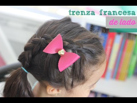 Peinado de niñas: Trenza francesa de lado