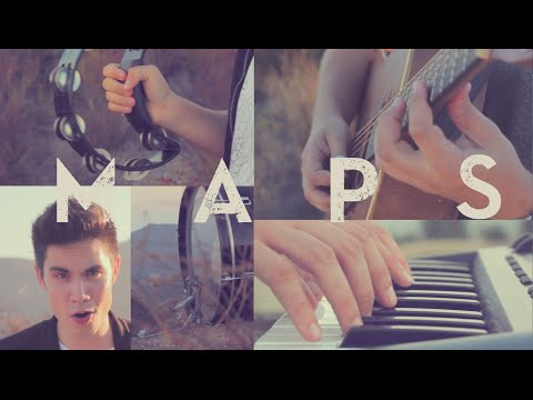 Maps (maroon 5) - Sam Tsui & Jason Pitts Cover video