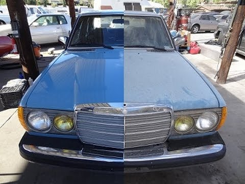 Car Auto Detailing Polish A DIY Wash Degrease Clay Bar Polishing Buffing Detail Video