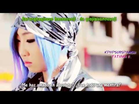 2NE1 Happy Sub Español