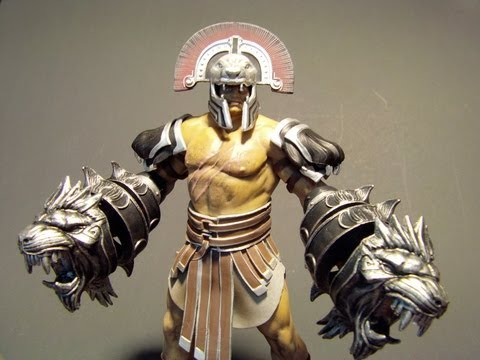 DC UNLIMITED HERCULES SERIES 1 GOD OF WAR 3 TOY REVIEW