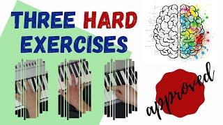 Three Exercises to Break Your Brain