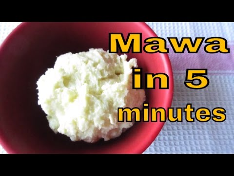 5 minutes MAWA / KHOYA recipe -without microwave- How to make khoya instantly?