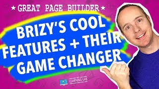 Brizy Page Builder Cool Features + Brizy Cloud Game Changer