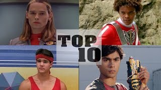 Top 10 BEST Red Power Rangers