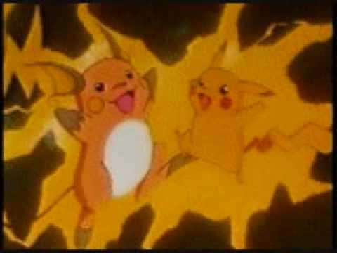 Pikachu and raichu dancing - photo#7