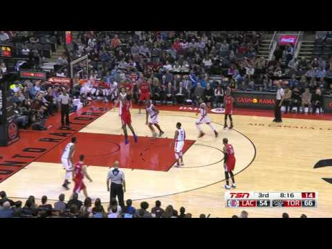 Los Angeles Clippers vs Toronto Raptors | January 24, 2016 | NBA 2015-16 Season