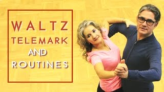 How To Dance Waltz Basic? | Telemark & Routines