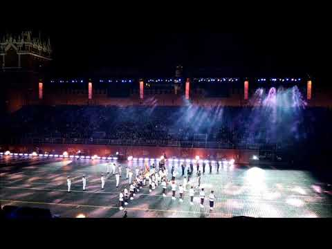 RUSSIAN MILITARY TATTOO 2018. SPASSKAYA TOWER 2018. THE SRI LANKAN MILITARY BAND.