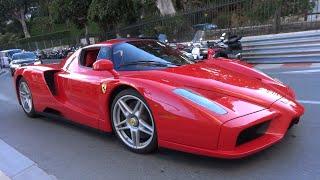 Ferrari Enzo Ferrari - Exhaust Sounds in Monaco!