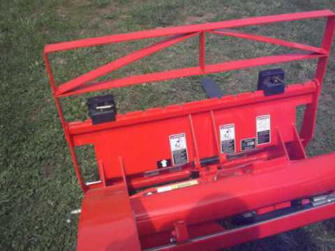 KUBOTA BX SERIES NEW QUICK ATTACH SYSTEM (BX2370 TRACTOR)