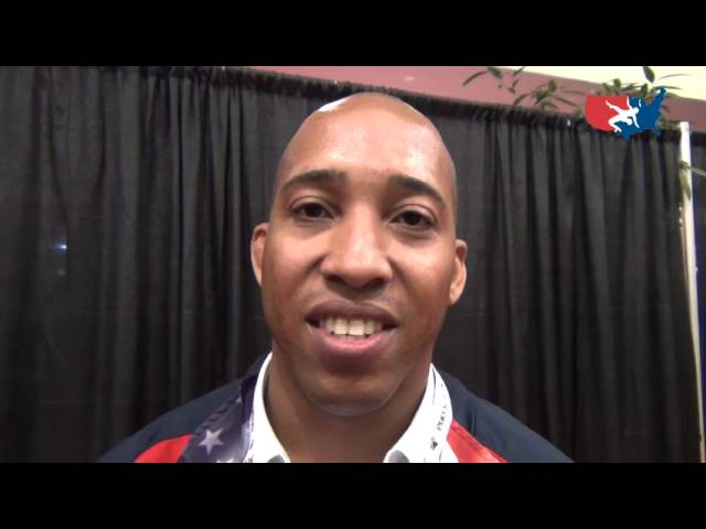 Wrestling leader Noel Thompson supporting USA at Women's Worlds in Canada