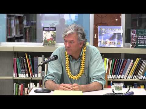"""Reporting History"" - Conversations on Writing with William Finnegan (March 3, 2014)"