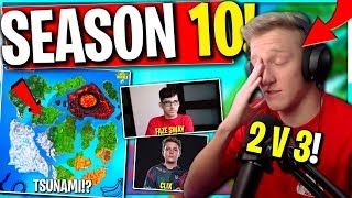 Season 10 START and Tsunami! Tfue, Faze Sway, and Clix CLAPS! ZylTV and 77 Bxrry Need Us