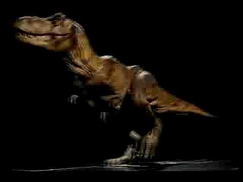 Advanced Stop Motion test for Jurassic Park