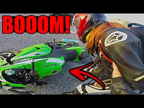 CRAZY ROAD BIKE CRASHES & MOTORCYCLE MISHAPS 2019