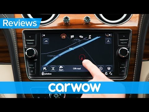 Bentley Bentayga 2018 infotainment and interior review   Mat Watson Reviews