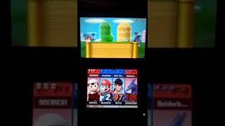 Ness & Charizard vs. Mario & Ryu (Super Smash Bros. for 3DS)