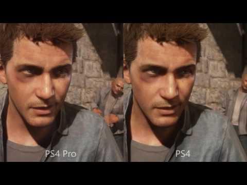 PS4 vs. PS4 Pro – Uncharted 4