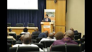 DG Lionel October delivers keynote address at 3rd Industrial Park Symposium