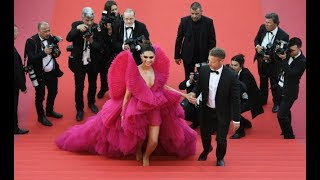 Deepika Padukone at Cannes 2018: stunning in red Ashi Studio couture
