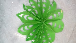 HOW TO MAKE BEAUTIFUL FLOWER BY USING CRAFT PAPER