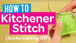 How To Cast On Knitting Stitches With Two Needles : How to Cast On - 2 Needles Method - Quick Knitting Tutorial. ????? ?? ???? ??...