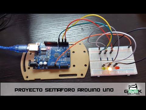 Arduino Uno - Previa Proyecto Semáforo | Proyectos