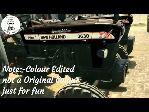 New Holland 3630 Special Edition Z (jet) Black (Editing) att